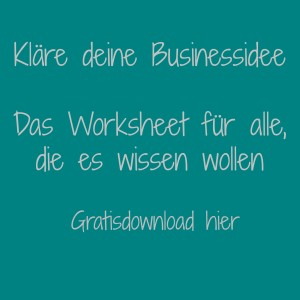 Worksheet-Businessidee